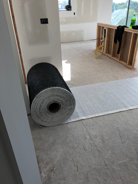 Sound proofing the floors