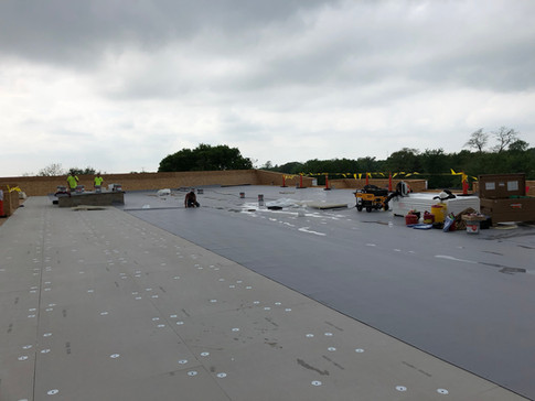 Roofing - keeping it dry! 5-18