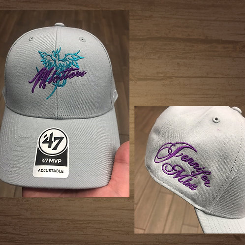 """Jennifer Mlott """"Mlotters"""" Hat (Light Gray)"""