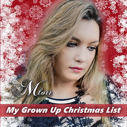 My Grown Up Christmas List  (Song - Single)