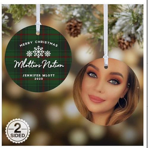 2020 Mlotters Nation Christmas Ornament