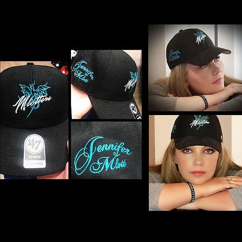 """Jennifer Mlott """"Mlotters"""" Hat (Black)"""