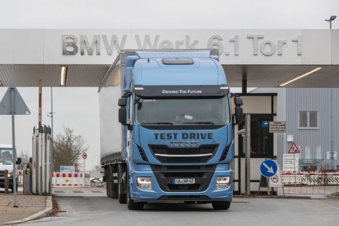 BMW Adopts LNG Trucks to Improve Sustainability