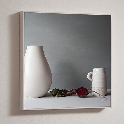 Beetroot, 30 x 30cm framed block