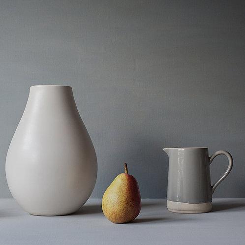 Pear and jug 30 x 30cm Fine Art print
