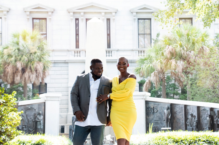 Engagement Photography at State House in Downtown Columbia SC