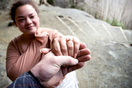 Engagement Photography at Alumn Cave Bluff Ridge TN
