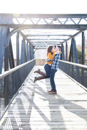 Engagement Photography at Canal Side Riverwalk SC