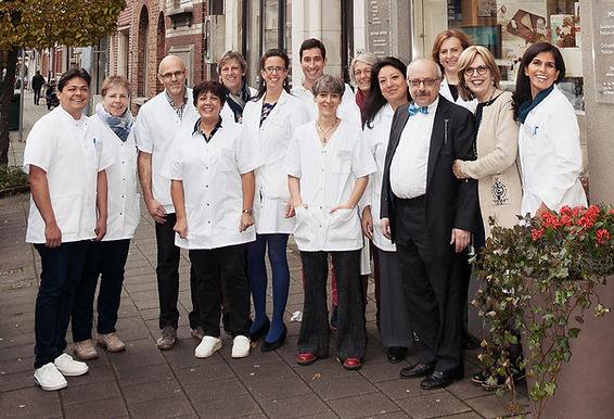 L'équipe chez Orthopédie Lucas - Band gste