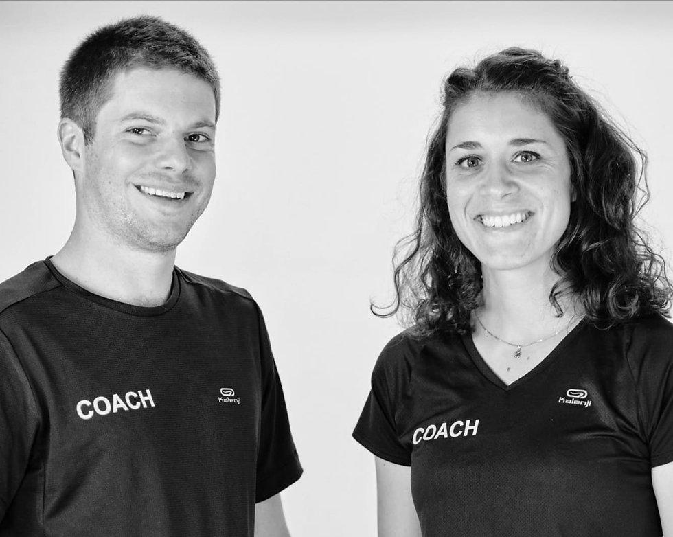 Coaching sport running