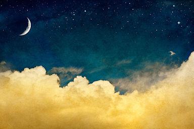 星が瞬く夜