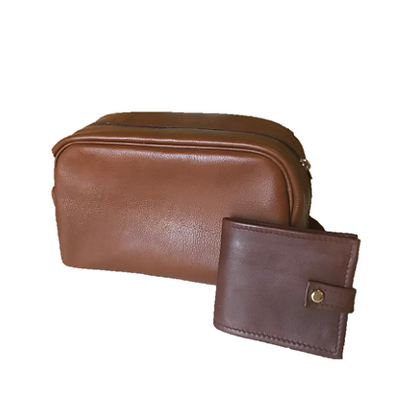 Leather - GDE, Gents Toiletry Bag