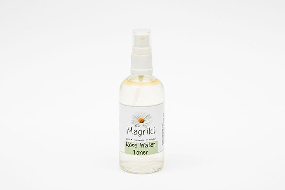Face - Magriki Naturals, Rose Water Toner Spray