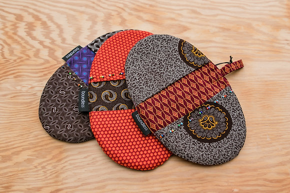 Shweshwe - Boundless, Pot Holders
