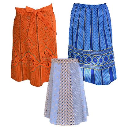 Shweshwe - Boundless, Material Skirts