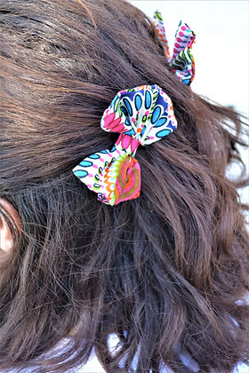Shweshwe - Boundless, Shweshwe Hair Clips, each