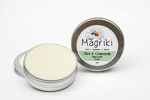 Baby - Baby Cream, Olive & Chamomile, Magriki Naturals