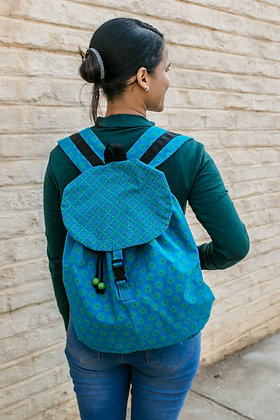Shweshwe - Boundless, Material Backpacks
