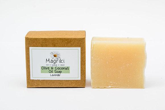 Body - Natural Soap, Olive & Coconut Oil, Magriki Naturals