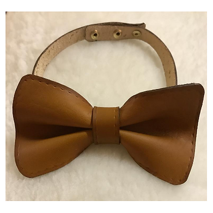 Leather - GDE, Leather Bowtie