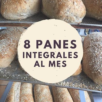 8 PANES INTEGRALES AL MES