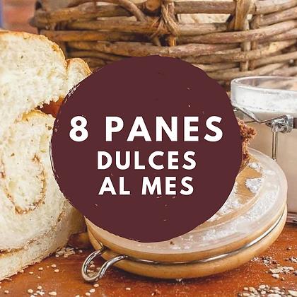 8 PANES ESPECIALES DULCES AL MES