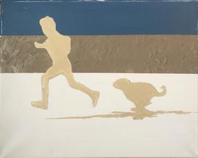 Boy, Dog, Run