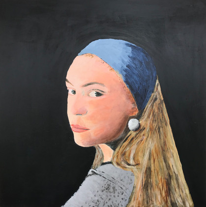 Girl with a Pearl