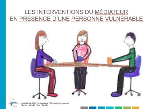 Les interventions du médiateur en présence d'une personne vulnérable : jusqu'où aller?