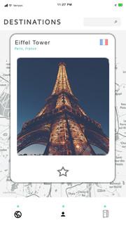Post App Destination Page