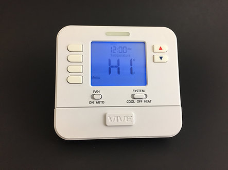 """VIVE Non-Programmable, 1H/1C With 4"""" Sq. In. Display - Installed-"""