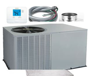 Payne® - Packaged Air Conditioner - Installed-