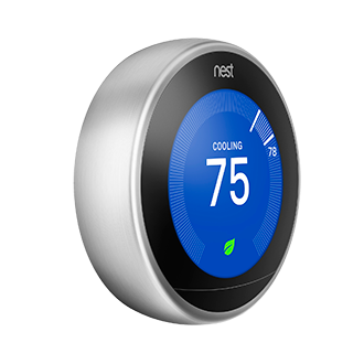 Nest Smart Thermostat -Installed -