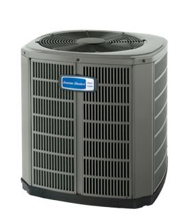 American Standard Central Air Conditioning Condenser Replacement