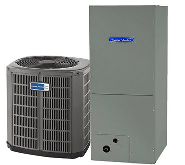 American Standard Central Air Conditioning System Replacement