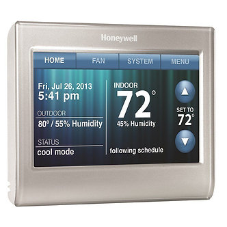 Honeywell  WiFi Touchscreen Thermostat  - Installed -