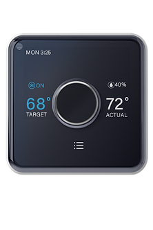 Hive Heating and Cooling Smart Thermostat Pack, Thermostat + Hive Hub-Installed-