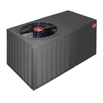 Rheem Packaged Air Conditioner - Installed-