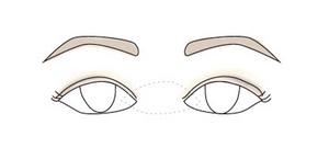 closet eyes make up and eyebrow shape