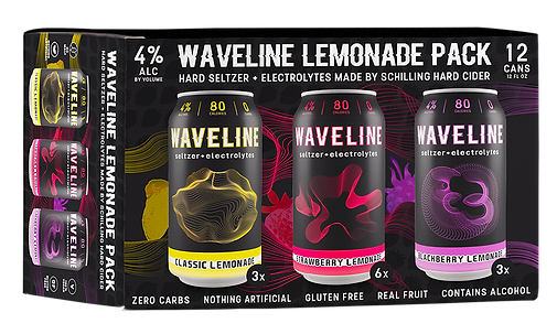 Waveline Lemonade Variety 12pk - 1MB 3D