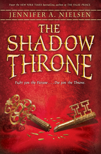 The Shadow Throne (The Ascendance Trilogy #3) by Jennifer A. Nielsen