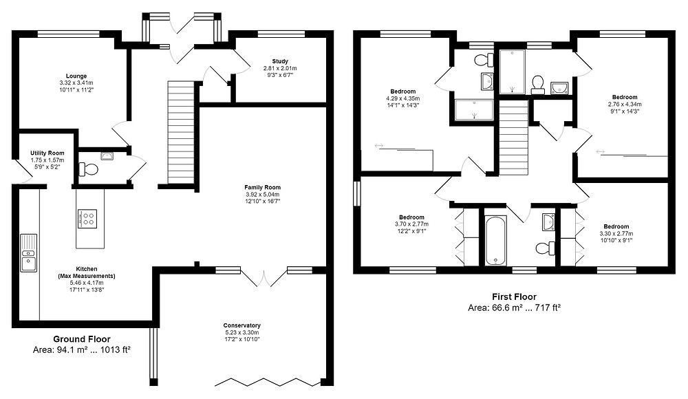 Property Floorplans and Energy Performance Certificates in Stanford Le Hope