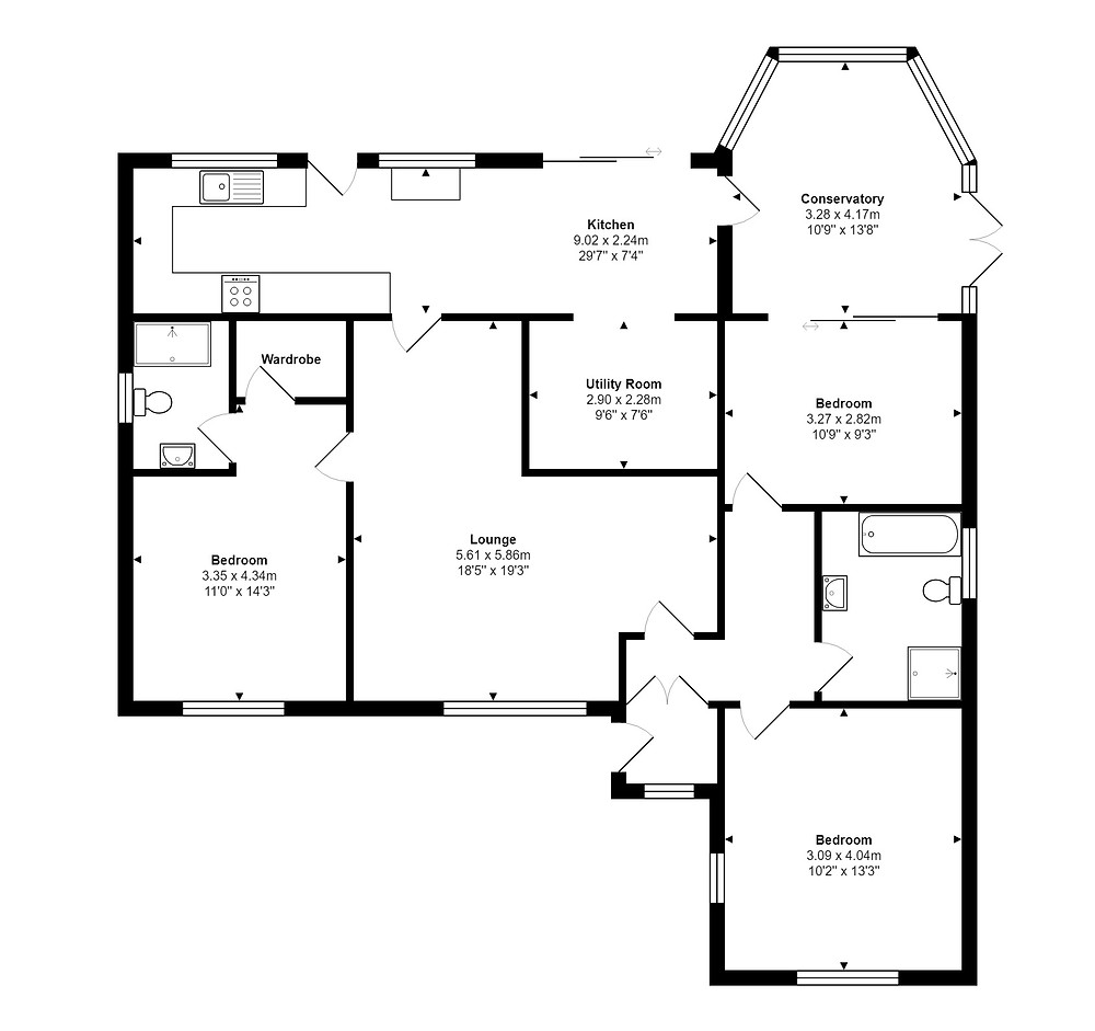 Property Floorplans and Energy Performance Certificates in Hornchurch