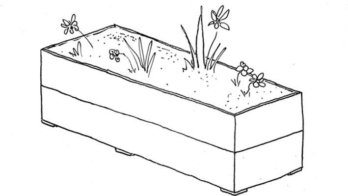 Scaffold Big Tub