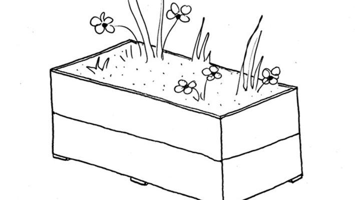 Scaffold tub