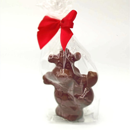 Figurine au Chocolat au Lait Chocolatier Belge Valentino