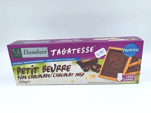 Petit Beurre au Chocolat Noir Valeur Réduite de Glucides