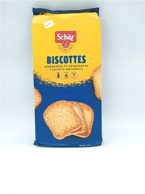 Biscottes Sans Gluten SCHÄR