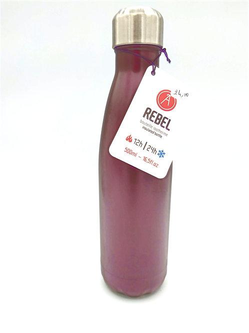 Bouteille isotherme Rebel Violet mat 28cl