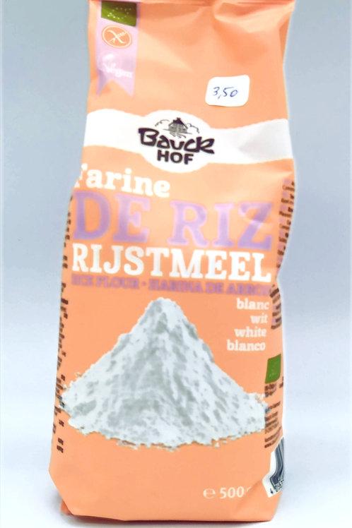 Farine de Riz Rijstmeel BauckHof